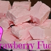 Simple 2 Ingredient Strawberry Fudge