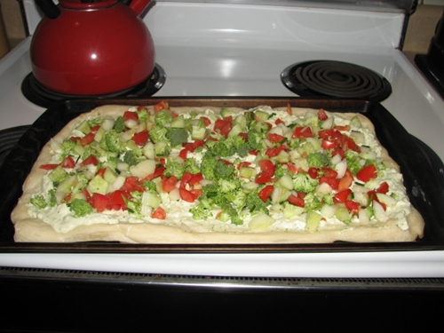Fresh Veggie Pizza