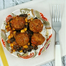Mexican Style Slow Cooker Meatballs
