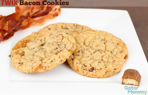 TWIX Bacon Cookies