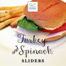 Healthy Meal Planning Week of January 20 - Easy Turkey Spinach Melts w