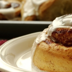 Sour Cream Cinnamon Rolls