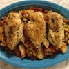 Crock Pot Chicken Vesuvio
