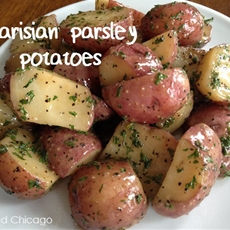 Authentic Parisian Parsley Potatoes