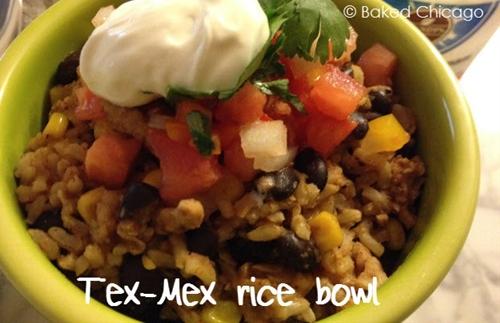 Tex Mex Rice Bowl