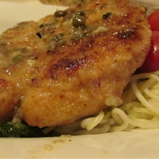 easy chicken piccata - a woman the world deserves
