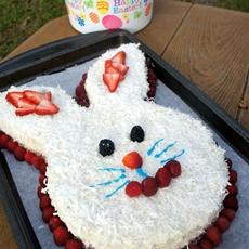 Berrylicious Bunny Cake