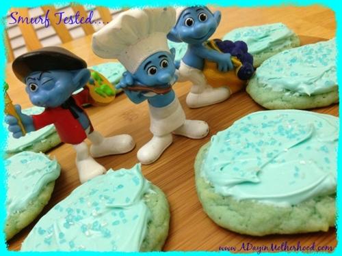 Blue Cookies, Smurfs or Frozen Birthday Ideas