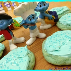 Blue Cookies, Smurfs or Frozen Birthday Ideas