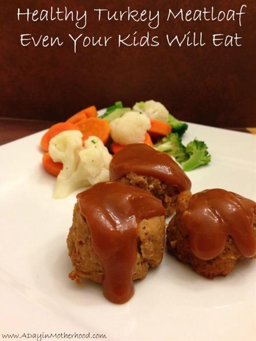 Mini Turkey Meatloaf Dinner