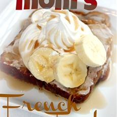 French toast and cinnamon icing recipe
