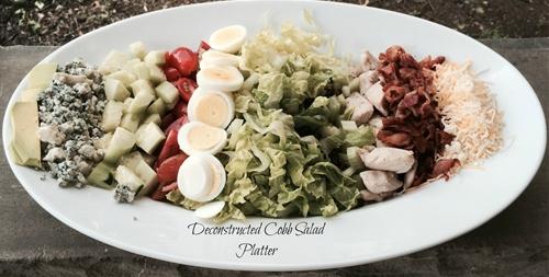 Deconstructed Cobb Salad Platter