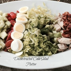 Deconstructed Cobb Salad Platter
