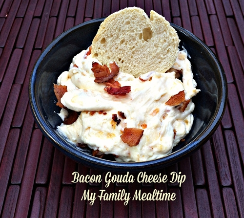 Bacon Gouda Cheese Dip