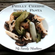 Philly Cheese Steak Pasta