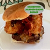 Hashbrown Jalapeno Bacon Cheese Burger
