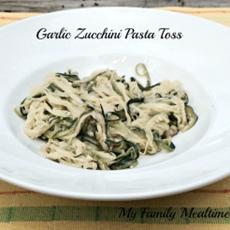 Garlic Zucchini Pasta Toss