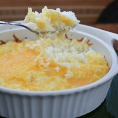 Cheesy Rice Side Dish