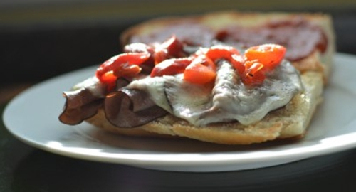 Italian Roast Beef Melt