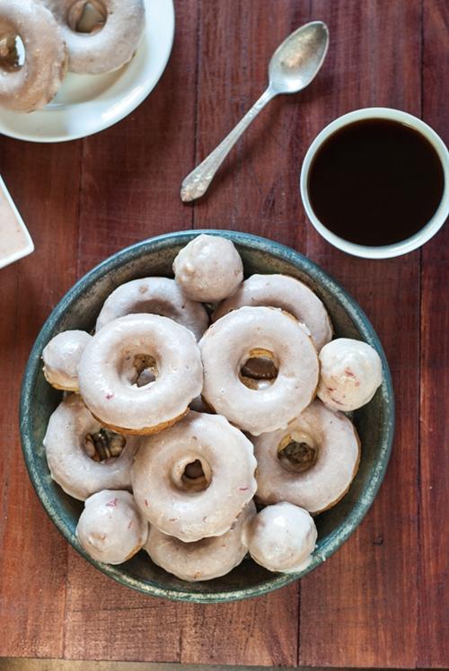 Plum Spice Doughnuts