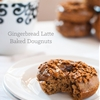 Healthy Baked Gingerbread Latte Dougnut
