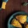 Cheddar Pumpkin Sage Scones