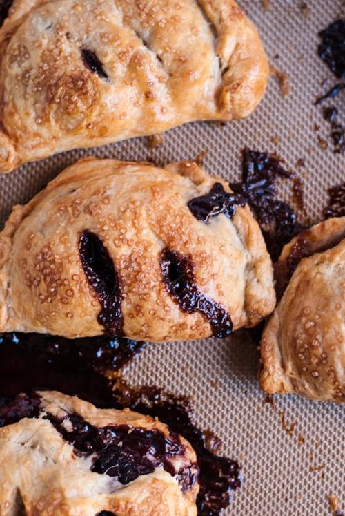 Pear and Chocolate Hazelnut Hand Pies