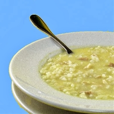 Avgolemono -- Greek lemon chicken rice soup recipe
