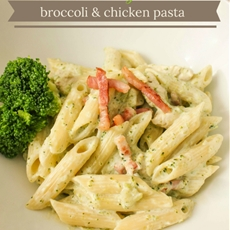 Creamy Broccoli and Chicken Pasta