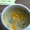 Best ever broccoli cheese soup