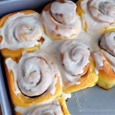 Orange Cinnamon and Cardamom Rolls