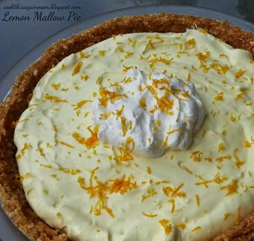 Lemon Mallow Pie
