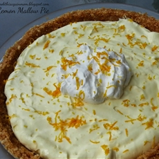 Lemon Mallow Pie