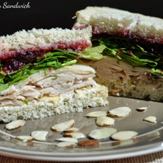 Turkey & Cranberry Sandwich