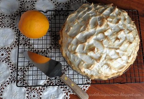 Orange Cream Meringue Pie