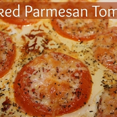Baked Parmesan Tomato