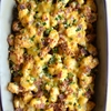 Loaded Baked Potato and Buffalo Chicken Casserole