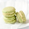 Creme Brulee Pistachio Macarons