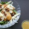 Spring Pear & Walnut Salad w Honey Mustard Vinaigrette