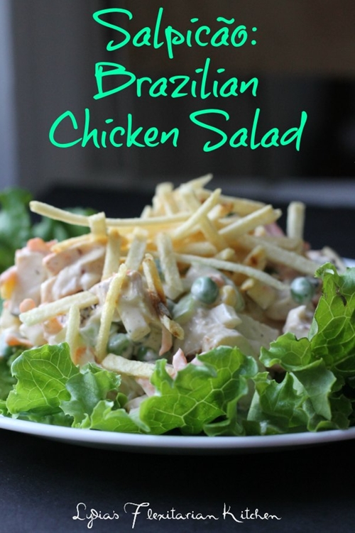 Salpicão {Brazilian Chicken Salad}