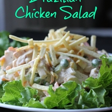 Salpicão {Brazilian Chicken Salad}
