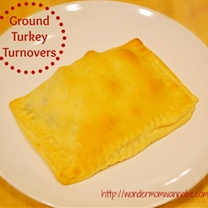 Ground Turkey Turnovers