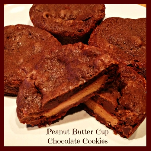 Peanut Butter Cup Chocolate Cookies