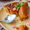Pear Pomegranate Tarte Tatin