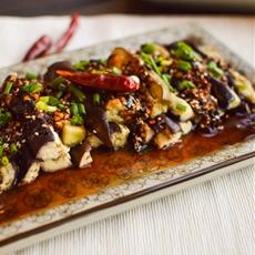 Liang Ban Qiezi or Cold Eggplant Salad