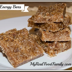 coconut energy bars - my real food family |