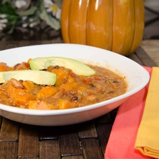 sweet potato quinoa chili - my real food famil