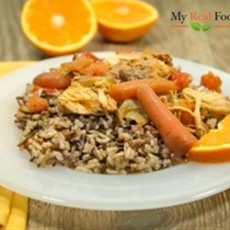 orange chicken |  my real food family