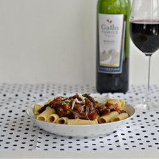 Short Rib Ragu with Rigatoni