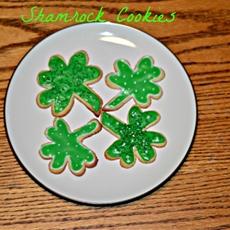 Shamrock Cookies #SundaySupper - Hezzi-D